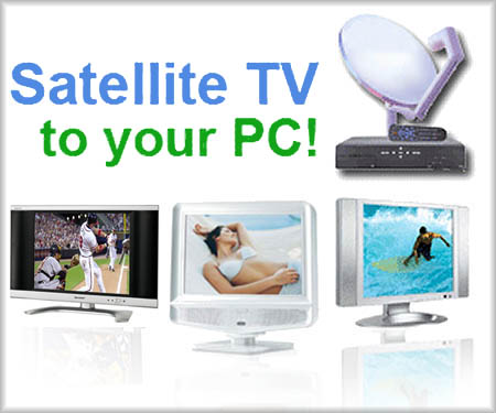 Satellite TV For PC Software